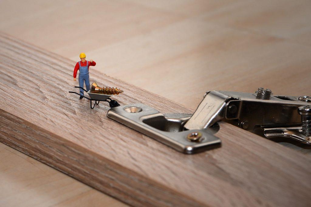 Creación de armario de madera